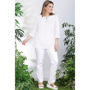LENATA 11008 Блузка (белый)