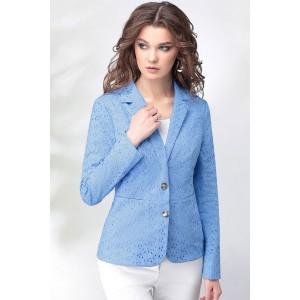 LENATA 11011 Жакет (голубой)