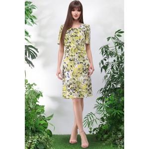 LENATA 11020 Платье (листья)