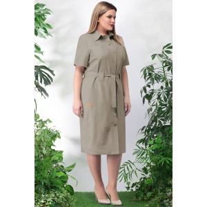 LENATA 11024 Платье (темно-бежевый)