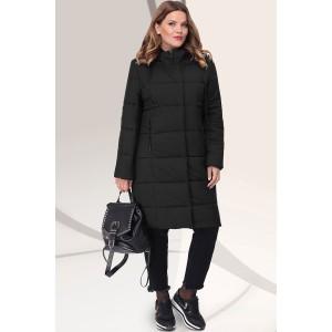 LENATA 11041 Пальто (черный)