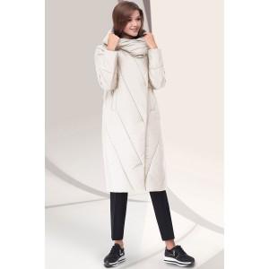 LENATA 11043 Пальто (бежевый)