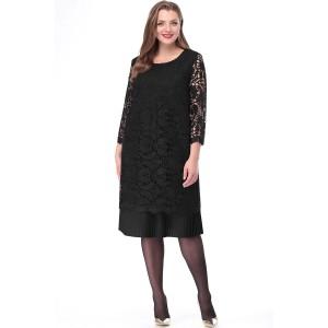 LENATA 11048 Платье (черный)