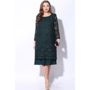 LENATA 11048 Платье (зеленый)
