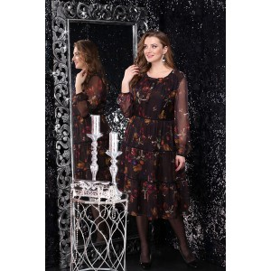 LENATA 11049 Платье (тюльпаны)