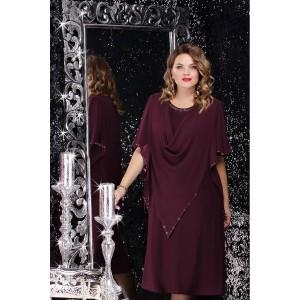 LENATA 11059 Платье (спелая вишня)