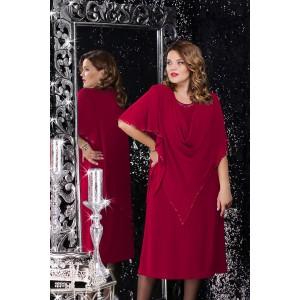 LENATA 11059 Платье (марсала )