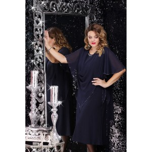 LENATA 11059 Платье (темно-синий)