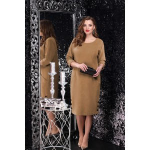 LENATA 11076 Платье (карамель)