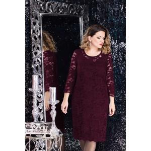 LENATA 11607 Платье (фиолетовый)