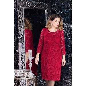 LENATA 11607 Платье (бордо)