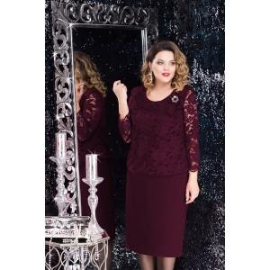 LENATA 11715 Платье (фиолетовый)