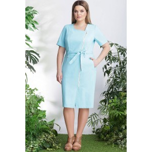 LENATA  11762 Платье (голубой)
