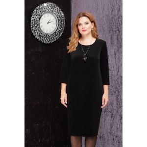 LENATA 11816 Платье (черный)