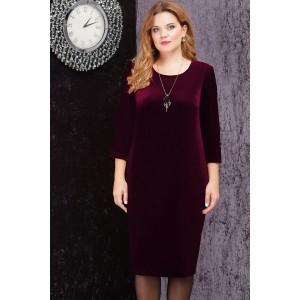 LENATA 11816 Платье (бордо)