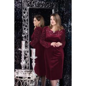 LENATA 11966 Платье (бордо)