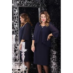 LENATA 12065 Платье (темно-синий)