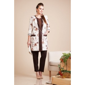 LILIANA 585 Кардиган с блузкой