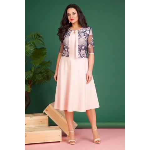 LILIANA 618N Платье с накидкой