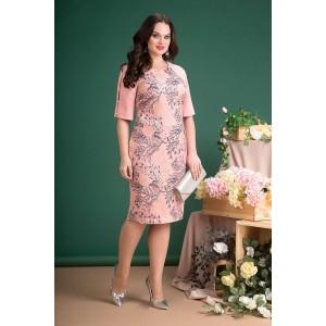 LILIANA 711 Платье (Розовый)