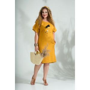 LILIANA 844 Платье (шафран)