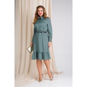 LILIANA 889-L Платье с поясом
