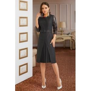 LISSANA 3874 Платье (темный графит)