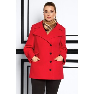 LISSANA 3910 Пальто (алый)