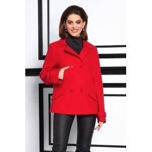 LISSANA 3931 Пальто (алый)