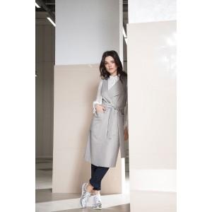 LOKKA 466 Платье-тренч цвет «нейтрально-серый»