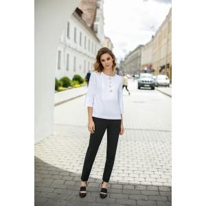 LOKKA 532 Блуза (белый)