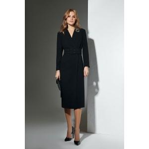 LOKKA 543 Платье (черный пепел)
