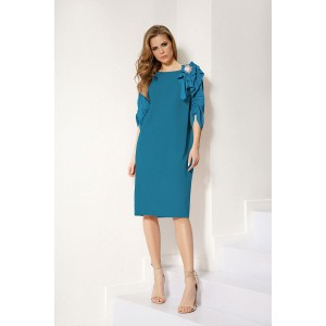 LOKKA 546 Платье (морская бирюза)