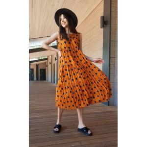 LOKKA 614-МК Платье (морковный карри)