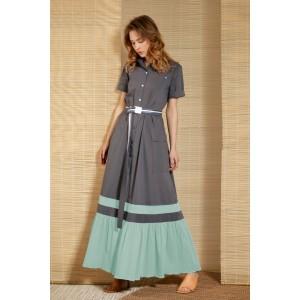 LOKKA 643 Платье (серый)