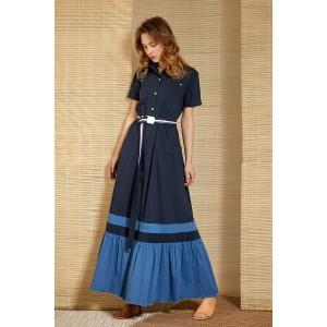 LOKKA 643 Платье (синий)