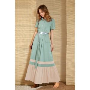 LOKKA 643 Платье (мята)