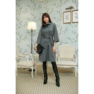 LOKKA 667 Платье (светлый графит)