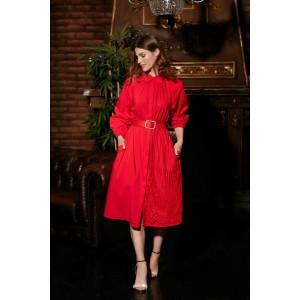 LOKKA 699 Платье (красный)