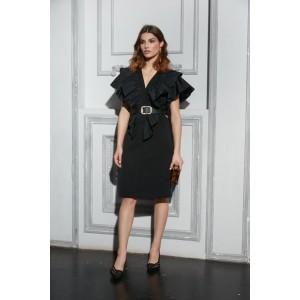 LOKKA 709 Платье (чёрный)