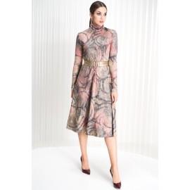 LYUSHE 2175 Платье (пудра + зо..