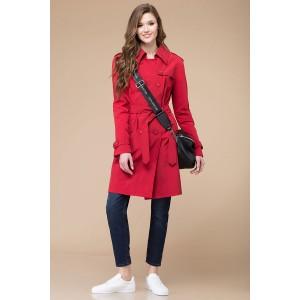 Linia-L a-1185 Пальто (оттенки красного)