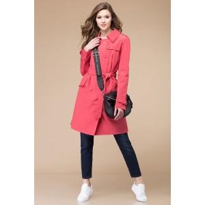 Linia-L a-1185 Пальто (оттенки розового)