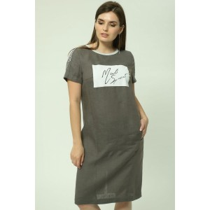 MALI 4111 Платье (серый)