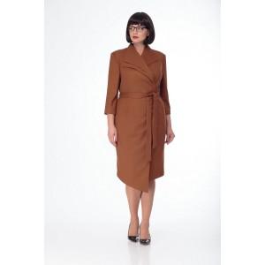 MALI 4120 Платье (сиена)