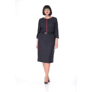 MALI 4121 Платье (серый)