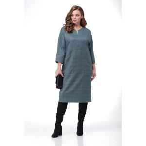 MALI 4122 Платье (изумрудный)
