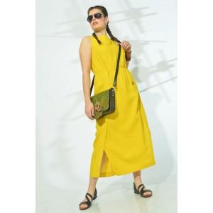 MALI 419-027 Платье (жёлтый)
