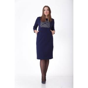 MALI 449 Платье (синий цвет)
