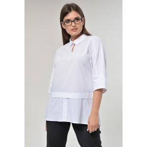 MALI 624 Блуза (белый)